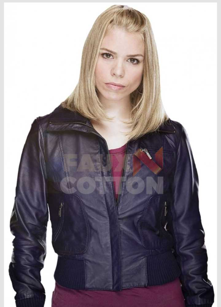 Doctor Who Billie Piper Bomber Jacket