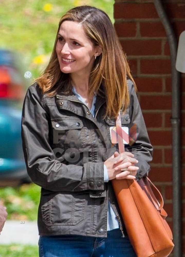 Instant Family Rose Byrne Cotton Jacket