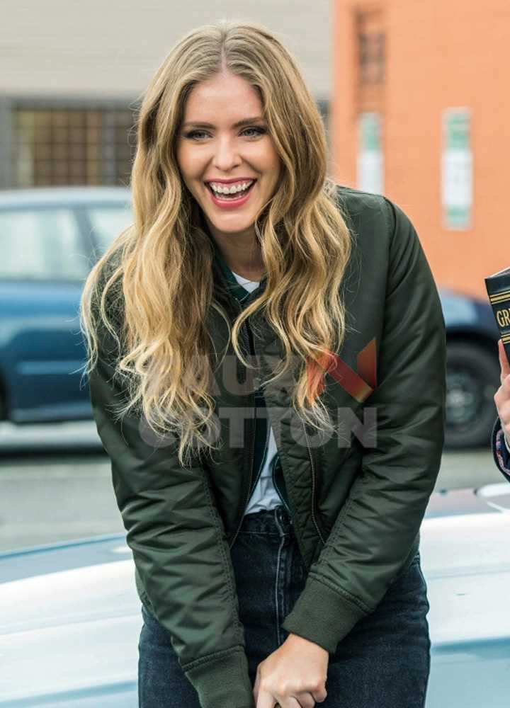 Supernatural Jordan Claire Robbins Jacket