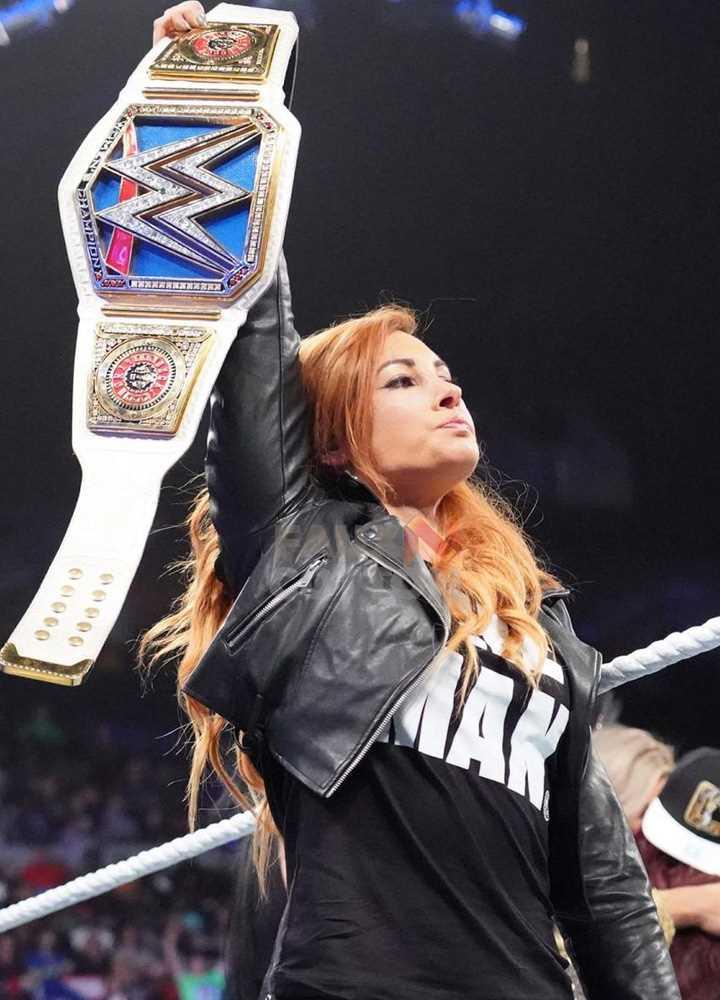 WWE Restler Becky Lynch The Man Jacket