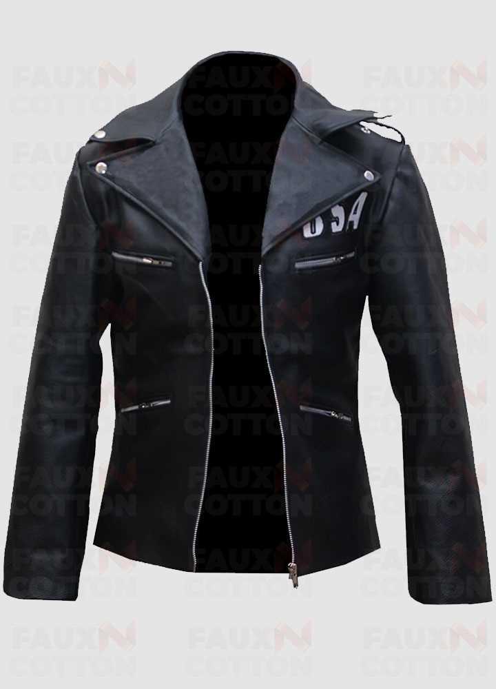 BSA Faith Rockers Revenge Women Leather Jacket