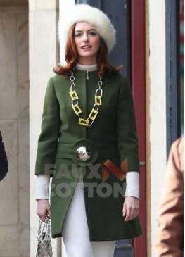 Modern Love Anne Hathaway Green Coat