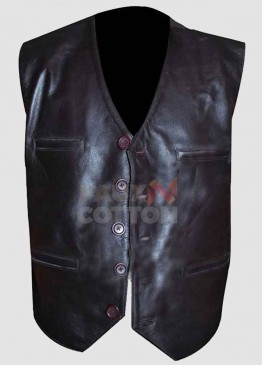 Cowboys And Aliens Daniel Craig Leather Vest