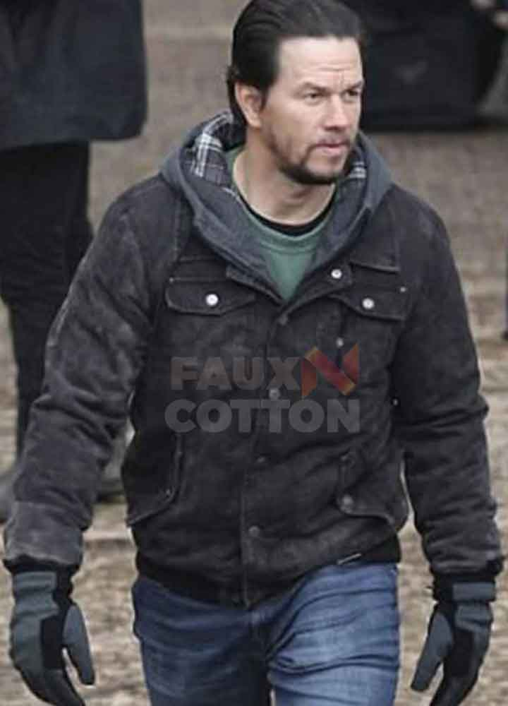 Daddy's Home 2 Mark Wahlberg Suede Jacket