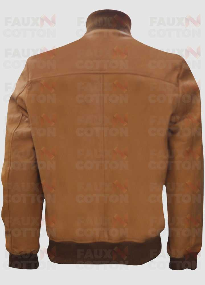David Brent Life on the road Leather Jacket