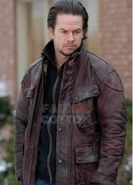 Four Brothers Mark Wahlberg Leather Jacket