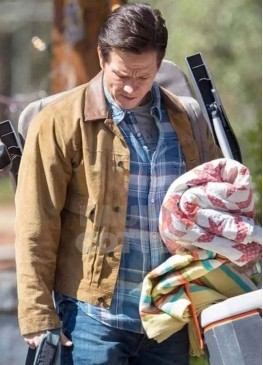 Instant Family Mark Wahlberg Brown Jacket