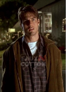 Jerry Maguire Tom Cruise Suede Jacket