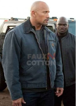 Snitch Dwayne Johnson Cotton Jacket