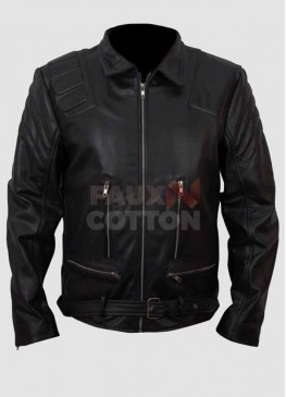 Terminator 3 Arnold Schwarzenegger Leather Jacket