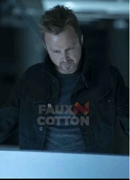 Westworld Season 3 Aaron Paul Cotton Jacket