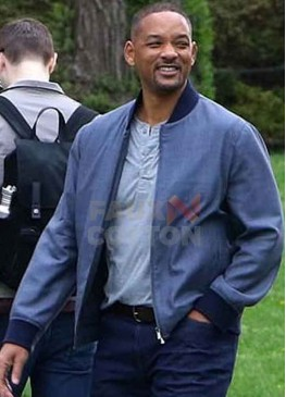 Gemini Man Will Smith Blue Jacket