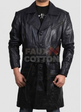 I Robot Will Smith Leather Coat