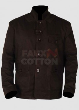 Skyfall Daniel Craig Brown Cotton Jacket