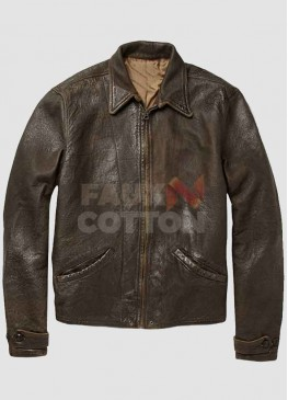 Skyfall Daniel Craig Brown Leather Jacket