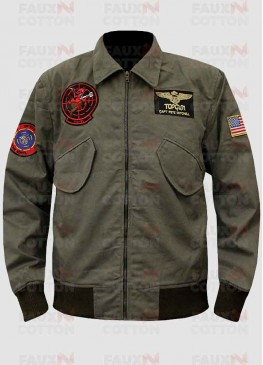 TOP GUN 2 TOM CRUISE BOMBER JACKET