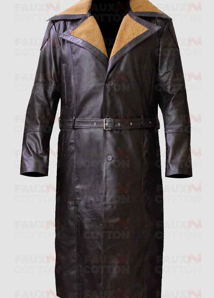 50 Of On Ww2 German Officer Leather Coat, Germany Ww2 Trench Coat