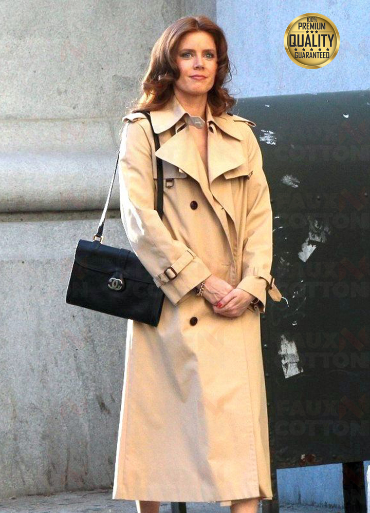 American Hustle Amy Adams Trench Coat