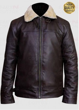 Men's Aviator B3 RAF Flying Cockpit Genuine Sheepskin Bomber Jacket