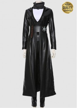 Regina King Watchmen Angela Abar Leather Costume Coat