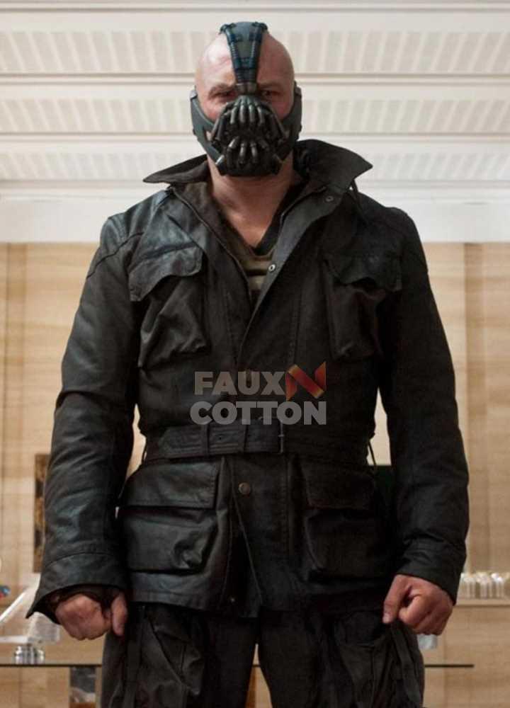 Bane The Dark Knight Rises Black Jacket