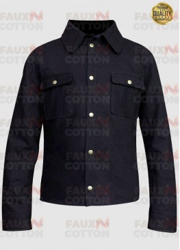 Jensen Ackles Supernatural Dean Winchester Black Cotton Jacket