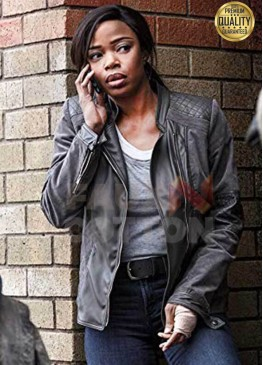 Jill Marie Jones Ash vs Evil Dead Amanda Fisher Black Leather Jacket
