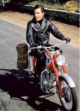 Jonathan Rhys Meyers Elvis 2005 Presley Black Biker Leather Jacket