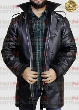 Kanan Power 50 Cent Black Shearling Jacket