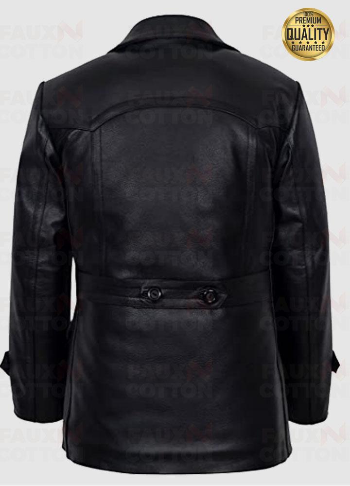 Men German Kriegsmarine Submarine U Boat Leather Jacket