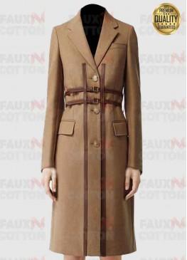 Love Life Anna Kendrick ( Darby  Carter ) Brown Coat