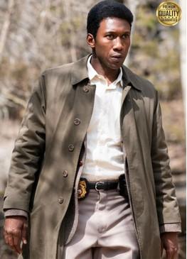 True Detective Wayne Hays Beige Cotton Coat