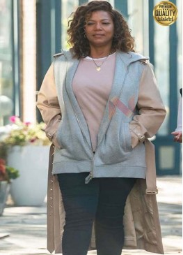 The Equalizer 2021 Robyn Mccall Long Tail Jacket