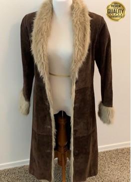 Robin Wright Forrest Gump Jenny Curran Fur Jacket