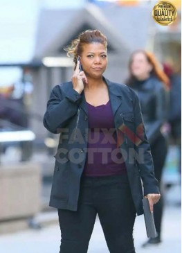 Robyn Mccall The Equalizer 2021 Black Cotton Jacket