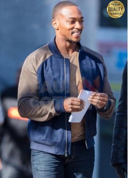 The Falcon And The Winter Soldier Sam Wilson Bomber Jacket