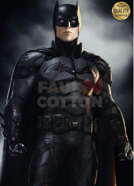The Batman 2022 Robert Pattinson Costume Vest Jacket