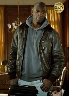 Omar Sy The Intouchables Leather Jacket