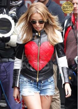 Valentine Day Kylie Minogue Red Heart Jacket